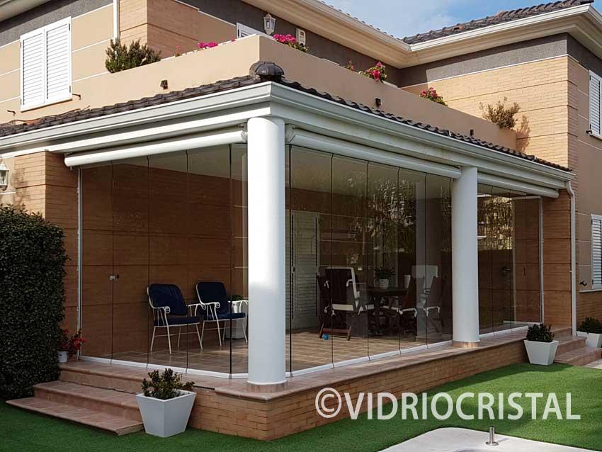 VidrioCristal - Cerramientos sin perfiles
